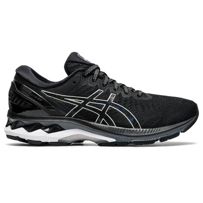 Enjoy excellent comfort and advanced support with the GEL-KAYANO® 27 running shoe. The redesigned mesh upper helps keep feet cool, while the sole is more flexible to help promote a more natural roll through the gait cycle. This process starts in the heel with added flex grooves that isolate the initial impact to force a softer and smoother feeling at footstrike.
