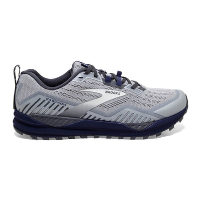 Run trails with confidence and ease in the Men's Brooks Cascadia 15.  It features a rock plate built-into the midsole that helps to protect the feet from rocks and roots.  Also in the midsole, is Brooks DNA foam that provides just the right amount of cushioning.