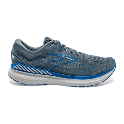 The Men's Glycerin GTS is a brand new style from Brooks with 19 years years of history.  This style is very similar to the legendary Glycerin 19 but Brooks has added Guide-Rails to help support the feet and keep the body going forward.