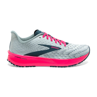 The Hyperion Tempo from Brooks is the little sibling to the carbon version.  This shoe is super lightweight, yet provides great soft, cushioning in a very responsive trainer.  Run hard and Recover hard in the Women's Hyperion Tempo.
