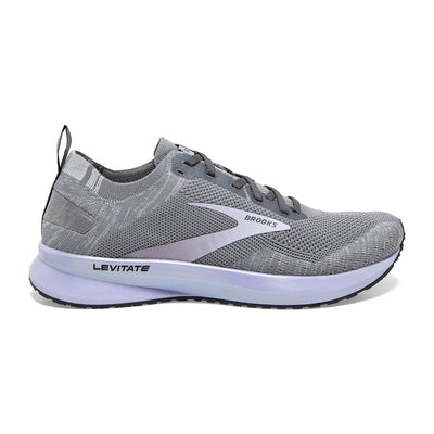 Are you looking for a little extra energy and spring in your step?  Then the Brooks Levitate 4 is a great option.  It features Brooks DNA AMP midsole that is 20% lighter than in the past and offers lots energy return.