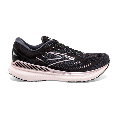The Women's Glycerin GTS is a brand new style from Brooks with 19 years years of history.  This style is very similar to the legendary Glycerin 19 but Brooks has added Guide-Rails to help support the feet and keep the body going forward.