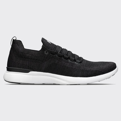 Men's APL Tech Breeze Running shoe in Black and White