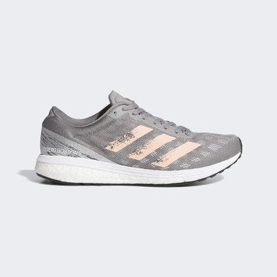The adidas Boston has been one of our favorites for several years now, actually one of our Women's Buyer favorite.  Just a great combination of cushioning blended into a efficient running shoe.