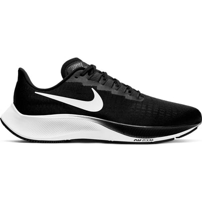 Take your runs to the next level with the Men's Nike Pegasus 37. With unbelievable React cushioning and a new forefoot Air unit, these shoes are like a bolt of caffeine for your legs. The lightweight upper breathes incredibly well. The pared-down, perfectly placed padding helps eliminate hotspots. And the super grippy outsole? Well, let's just say you gotta stay upright to run.