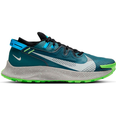 Find your wings on the path less traveled. The Men's Nike Pegasus Trail 2 delivers durability and responsiveness to runners, trail athletes and outdoor enthusiasts. Versatile enough for your everyday miles, it features an ideal fit with plush cushioning and tough traction.