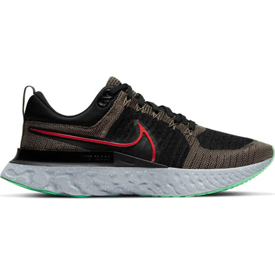 The React Infinity 2 is one of the smoothest running shoes we carry.  It has a slight rocker shape that makes the entire stride super smooth. In addition, the high stack height of the mid-sole provides a soft responsive underfoot feel and long-lasting comfort.