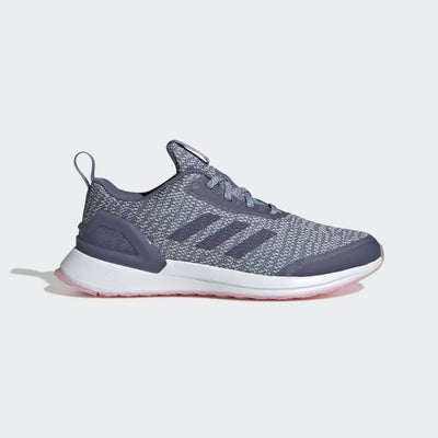 Running shoes designed just for girls. Built for laps around the track but stylish enough for school, these juniors' shoes have a knit upper that hugs the foot and classic laces to lock in the fit. Plush cushioning keeps you comfortable all day.
