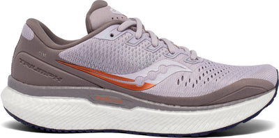 The Women's Triumph 18 is the most cushioned running shoe in the Saucony line-up.  This is due to a luxurious midsole that will make those long runs, faster and even longer. If you're searching for a very comfortable, cushioned running shoe - look no further.