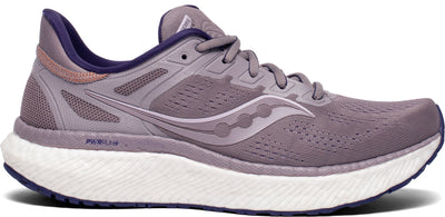 The Women's Saucony Hurricane is a necessity to have on a Run Stores shoe wall.  The main benefit of the Hurricane 23 is the added stability it provides for people who have an arch that collapses in more than average.  Historically, stability shoes were stiff and rigid, but no longer.  This style provides a ton of cushion with a luxurious feel.