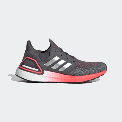 Wow, don't even know what to say about the Women's Ultraboost 20 from adidas.  This is the way to make everything your best.  Due to a very cushioned, responsive Boost material and the Primeknit upper hugging your foot, everything is better. Walk to coffee, cruise thru Runyon Canyon or tackle the long run.  It's all on the table for today.