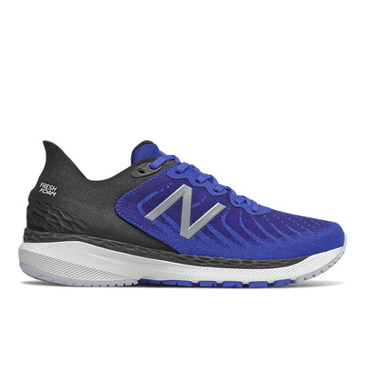 The Men's 860v11 from New Balance is built for long runs with a Fresh Foam midsole that provides stable cushioning mile after mile. This shoe is great for the runner/walker who has an arch that collapses in a bit more than normal.  The medial support, flexible forefront and appropriate cushioning is what makes this a best seller.