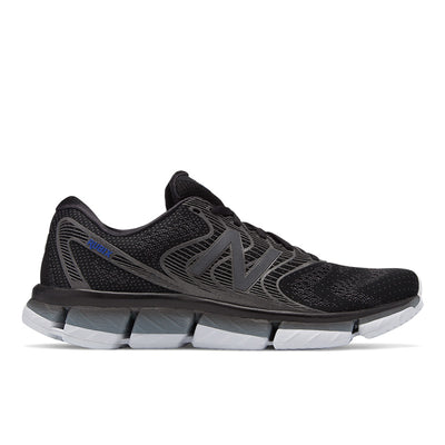 The  New Balance Rubix running shoe for men is engineered to help pronated runner find their perfect stride path with innovative new midsole technology. Data-driven guidance ramps help deliver premium stability for miles of aggressive running.