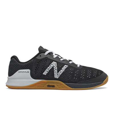 The Men's New Balance Minimus Prevail cross trainer is designed to help bring strength, style and stability to your workout. An engineered knit upper that's infused with TPU fibers to help offer stability to your stance. NB has also added a Vibram outsole to help keep your feet firmly grounded for weight training, and anything else you want to tackle at the gym.