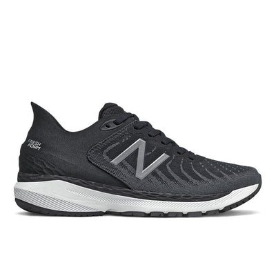 The Women's 860v11 from New Balance is built for long runs with a Fresh Foam midsole that provides stable cushioning mile after mile. This shoe is great for the runner/walker who has an arch that collapses in a bit more than normal.  The medial support, flexible forefront and appropriate cushioning is what makes this a best seller.