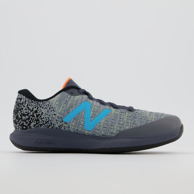 This version of the Women's New Balance 996v4 tennis shoe is made with a supportive synthetic mesh and Hypoknit upper over a full ground contact outsole that helps offer you the good footing you need to dominate the court. Plus, a new-and-improved full-length FuelCell midsole provides New Balance's most pinnacle propulsion and energy return. The 996 v4 also features a full-length non-marking outsole.