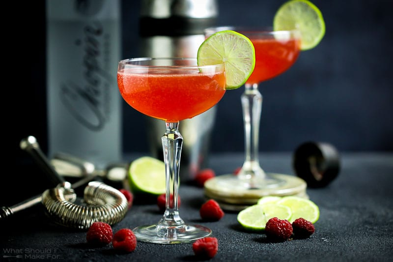 Strawberry Shrub Cocktail