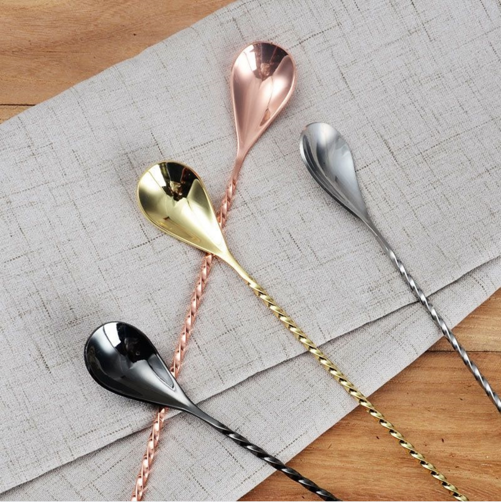 Cocktail Stainless Steel Spoon