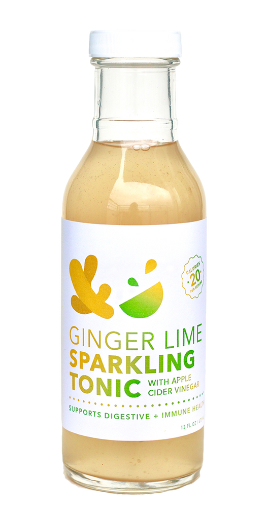 Ginger Lime Probiotic Tonic (12 bottle case)
