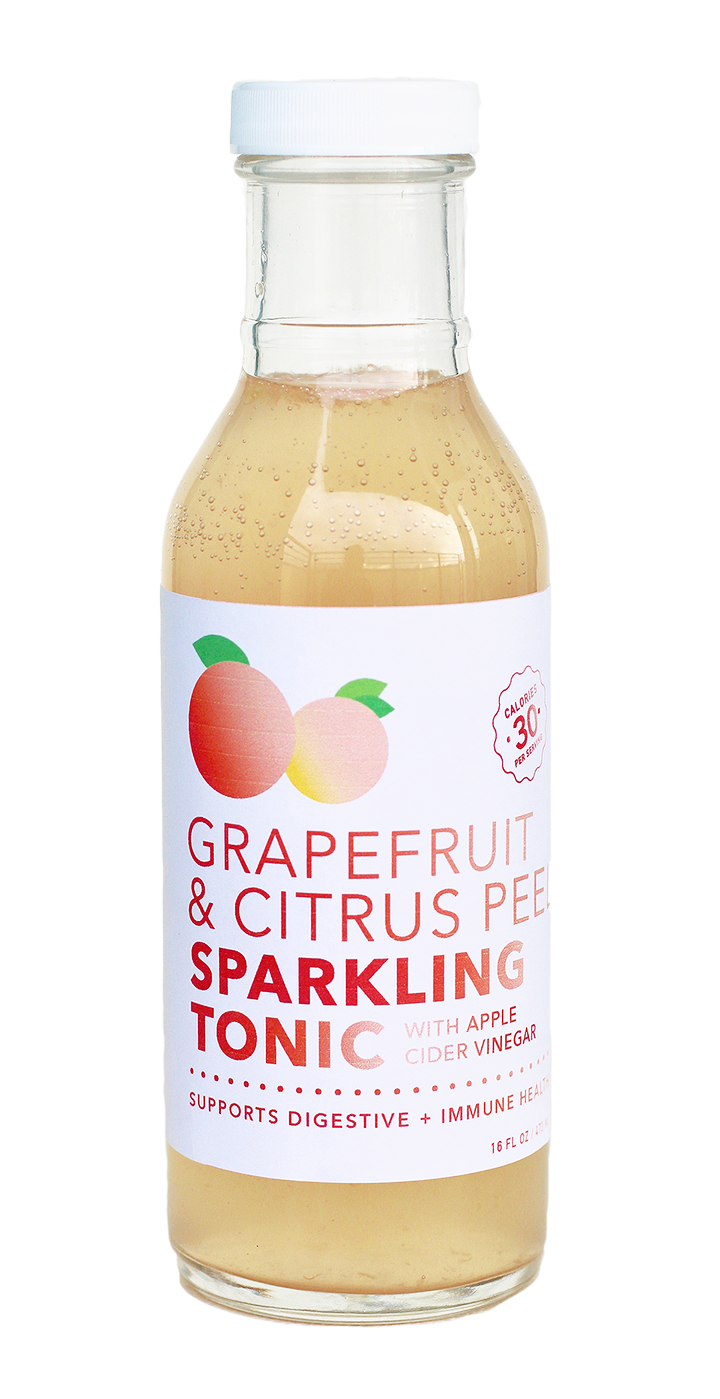 Grapefruit Citrus Probiotic Tonic (12 bottle case)