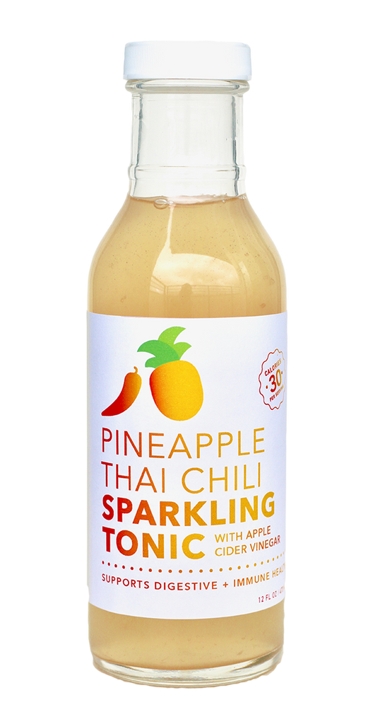 Pineapple Thai Chili Probiotic Tonic (12 bottle case)