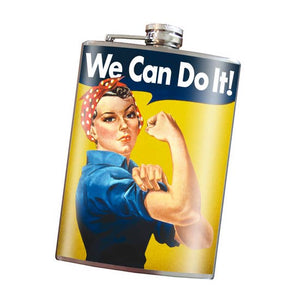 Flask-We Can Do It! Rosie the Riveter