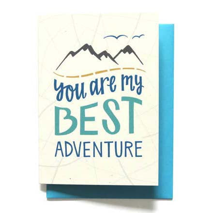 You Are My Best Adventure Love Card