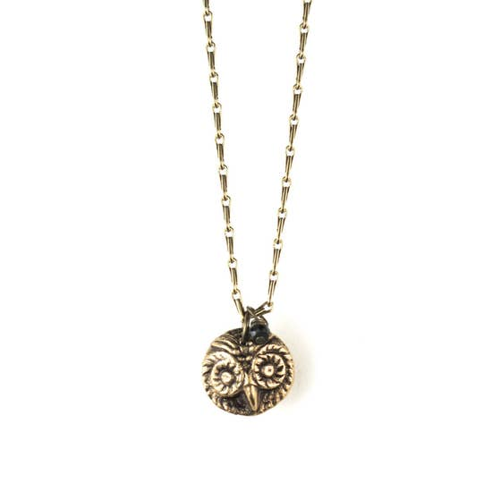Token Owl Necklace