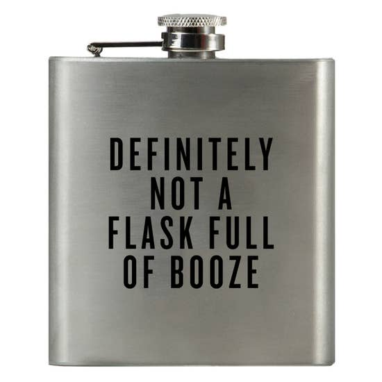 Definitely Not a Flask Full of Booze