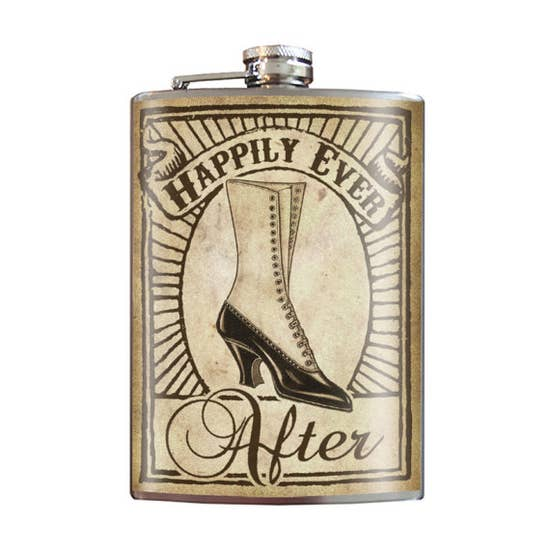 Flask - Happily Ever After - Bride