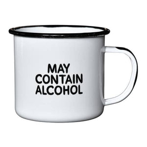 May Contain Alcohol | Enamel Mug
