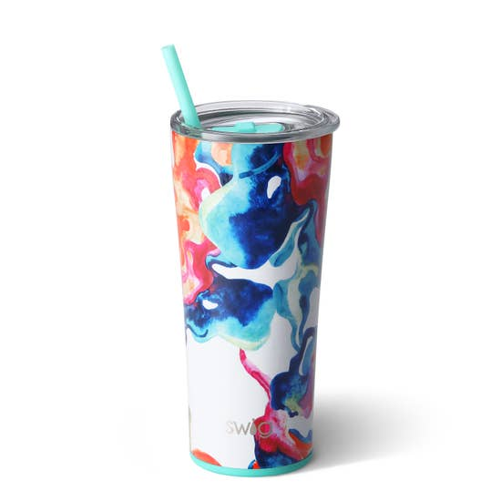 Color Swirl Signature 22oz Tumbler