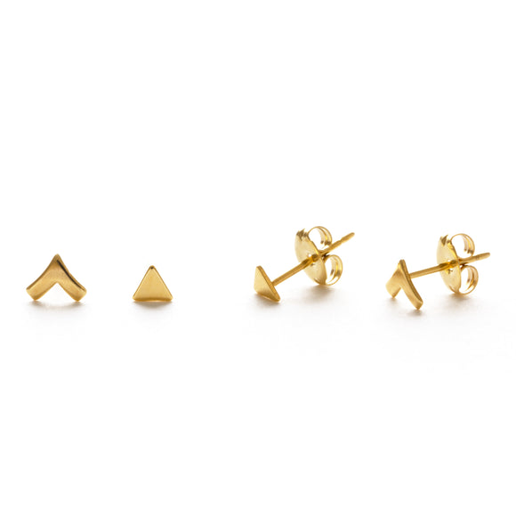 GOLD INSIGNIA COMBO STUDS