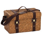 Insulated Picnic Basket equipped for 4