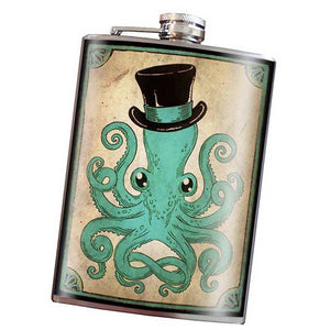 Flask - Gentleman Octopus