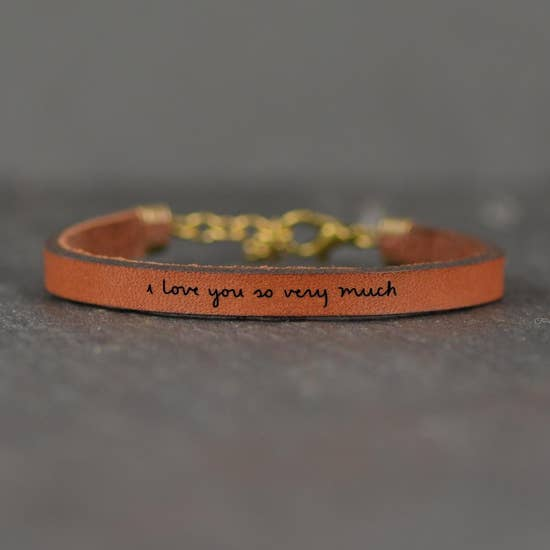 I love you so very much Bracelet