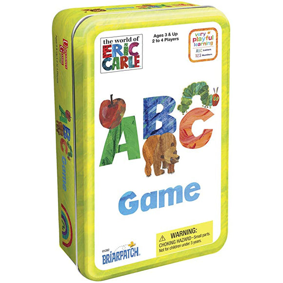 The Wold of Eric Carle ABC Game Tin