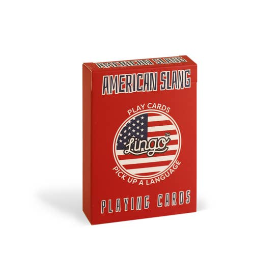 American Slang Lingo Card Game