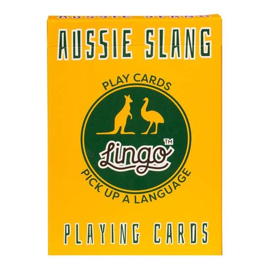 Aussie Slang Lingo Card Game