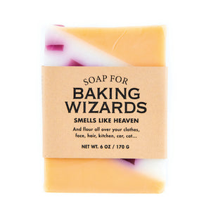 Soap for Baking Wizards