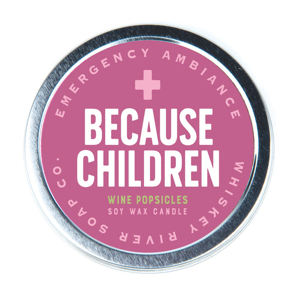 Because Children Emergency Ambiance Travel Tin