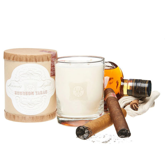 BOURBON TABAC, 2-WICK CANDLE