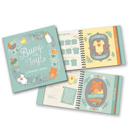 Guided Pregnancy Journal, Bump for Joy!
