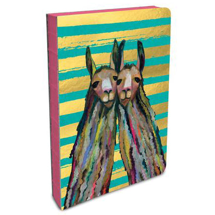 Llama Coptic Binging Journal