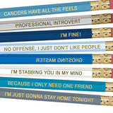 Astrology Pencils- Cancer