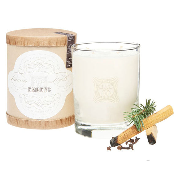EMBERS, 2-WICK CANDLE