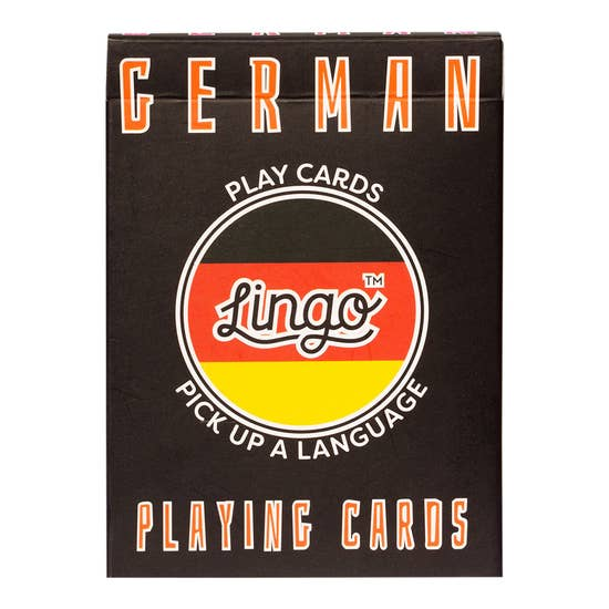 German Lingo Card Game