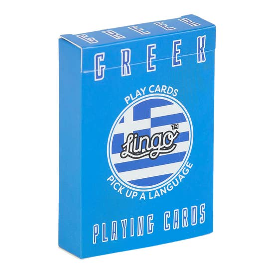 Greek Lingo Card Game