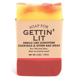 Soap for Gettin' Lit