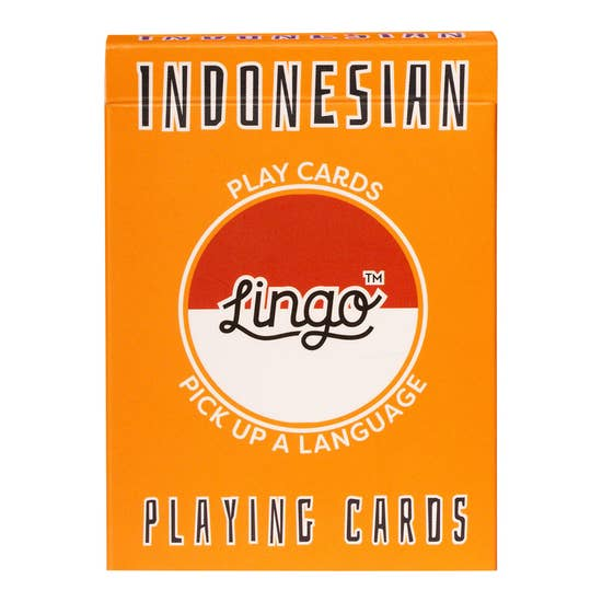 Indonesian Lingo Card Game